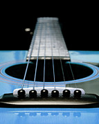 Andee Photography - Light Blue Guitar 13